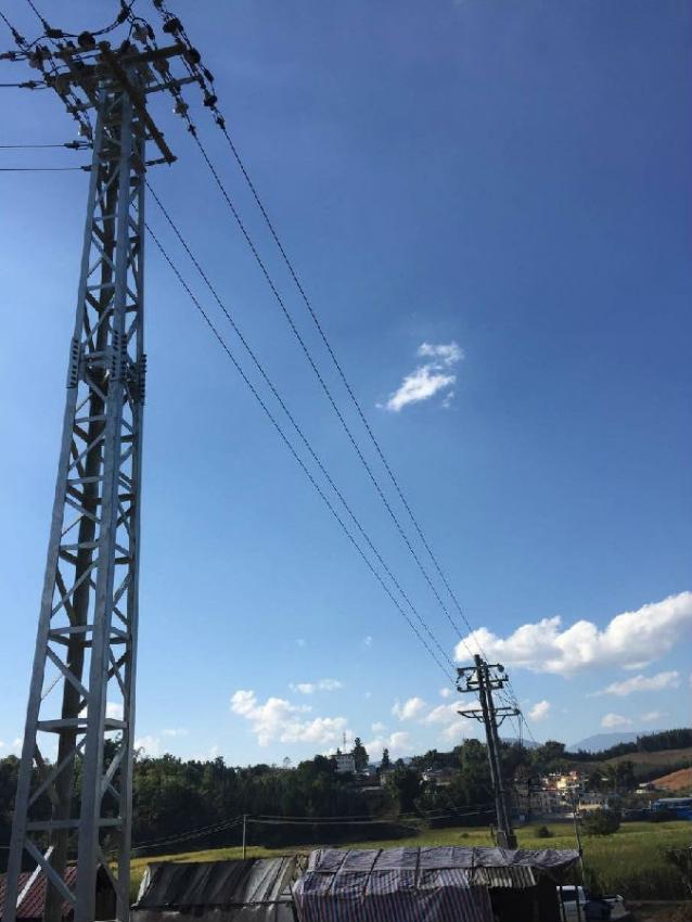 瑞丽供电局完成瑞丽市易地扶贫搬迁配套供电工程