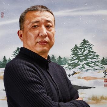 """""""画鹤""""名家仇庆林作品登上欧美各国邮票获社会各界赞誉"""