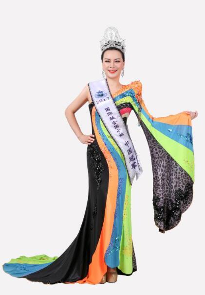林少华一举斩获2017国际联合国小姐中国冠军殊荣