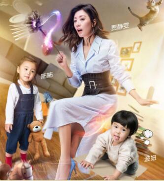超人妈妈贾静雯展现会呼吸美肌,肌肤状态若少女