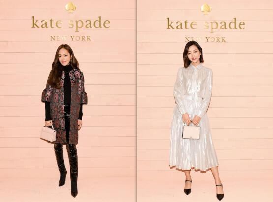 沪上小热巴许紫珊受邀Kate Spade品牌上海站