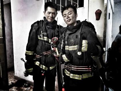 新生代百变小生陆孟志参演消防题材电视剧《火红的青春》