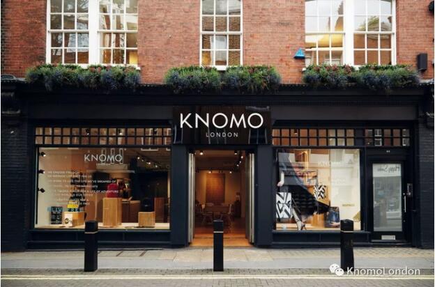 """KNOMO首次登上""""英国卓越150品牌""""榜单"""