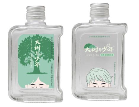 """""""大树与少年""""一瓶小酒传递一个事故"""