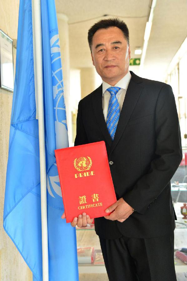 中国舞界迎来新时代  张相国在联合国部门新任职