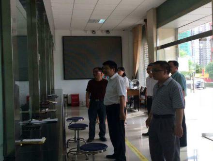 农发行湖南省分行张松柏副行长赴桃江调研抗洪救灾 慰问一线员工