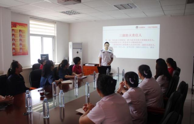力源:商贸分公司开展消防安全知识讲座及演练活动